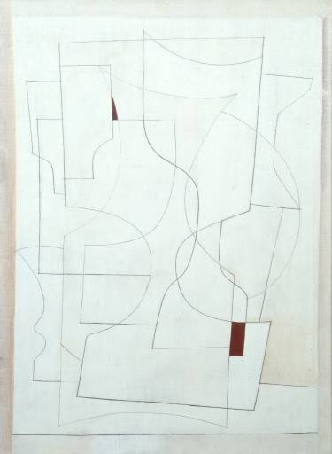 Ben NIcholson:  27 July, 1953 (ivory), 1953