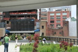 High Line Day One (a photo, not a rendering! whoo!)