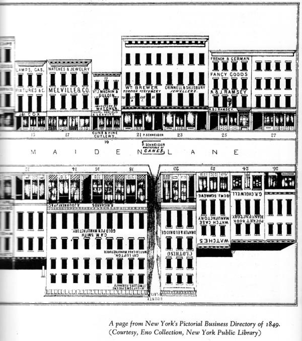 Maiden Lane 1849