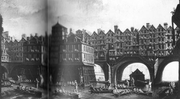 Parisian bridge