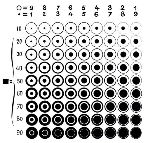 black and white diagrams