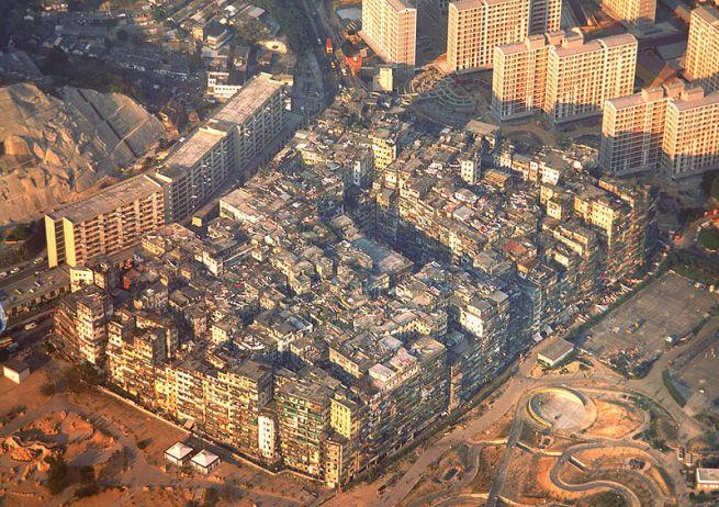 The Walled City of Kowloon, Hong Kong